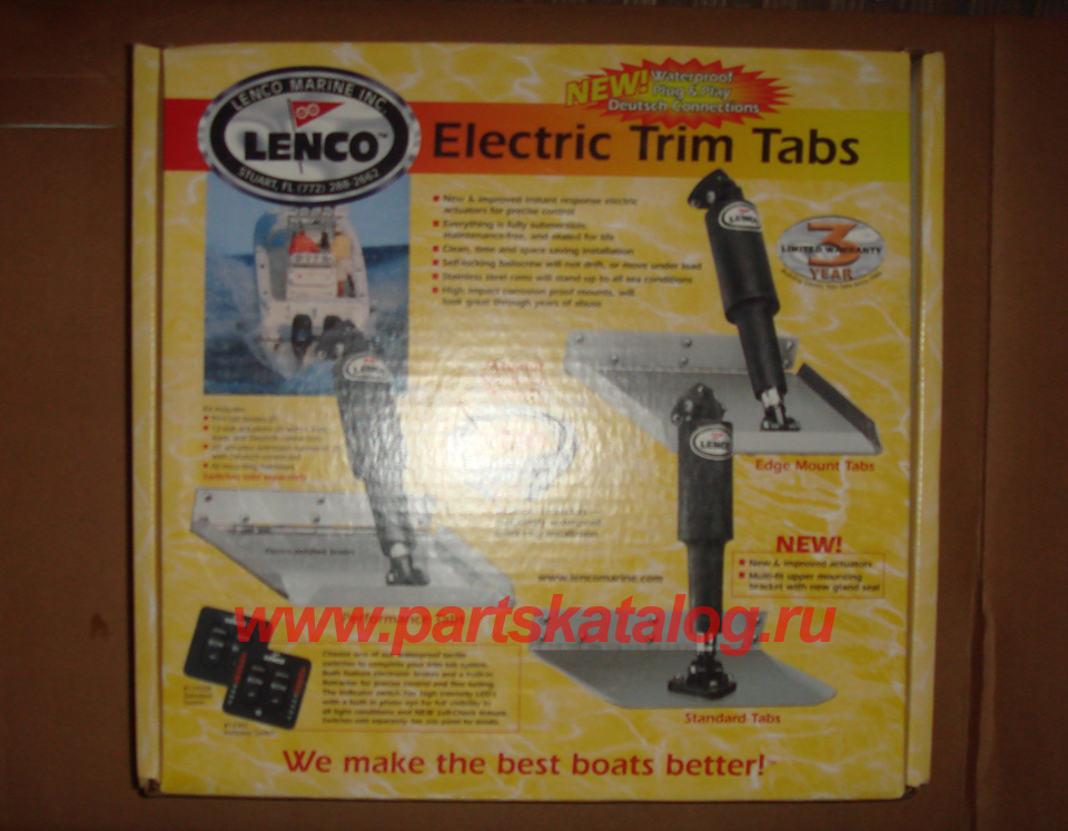 Electric Trim Tabs