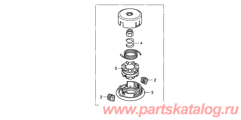 , Хонда UMK435T UEDT: - F-40-1 Cutting Mechanism With Nylon Blades